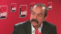 """Philippe Martinez (CGT) sur la réforme du chômage : """"Le role de Pôle Emploi c'est pas de réprimer les chômeurs, c'est de leur trouver du boulot"""""""