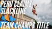 Peru is the trickline Team World Champion | GLOBETROTTER World Slackline Masters 2019 - Munich (GER)