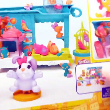 Play Doh Town Playset Pet Store