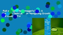 Full version  The Manager's Path: A Guide for Tech Leaders Navigating Growth and Change  For