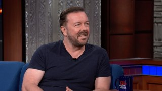 Ricky Gervais Thinks The Octopus Is Super Enough