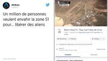 Un million d'internautes veulent entrer de force sur la Zone 51, la fameuse base secrète américaine