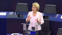 Ursula Von Der Leyen makes pitch to MEPs to become next European Commission President