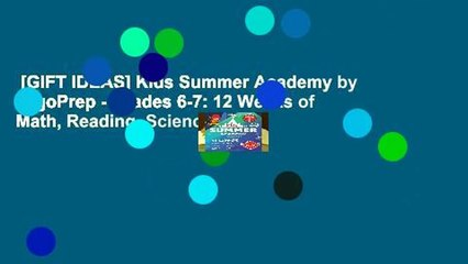 [GIFT IDEAS] Kids Summer Academy by ArgoPrep - Grades 6-7: 12 Weeks of Math, Reading, Science,