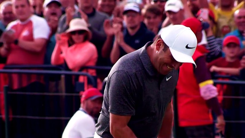 Reigning champion Molinari returns the Claret Jug ahead of the 2019 Open