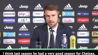 Ramsey excited to play 'Sarri-ball' at Juventus