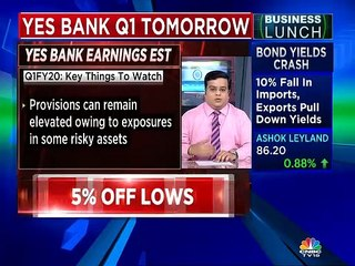 Yes Bank Q1FY20 numbers: What to expect?