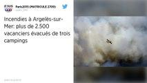 Incendie à Argelès-sur-Mer : retour au camping pour les 2 500 vacanciers évacués