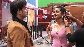 Malaika Arora's ex husband Arbaaz Khan shoots with Priya Prakash Varrier; Watch Video | FilmiBeat