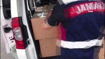 Ekiplerin durdurduğu araçtan 4 bin 400 paket kaçak sigara çıktı