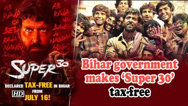 Bihar government makes 'Super 30' tax-free