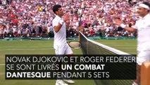 Wimbledon : l'anecdote complètement dingue de Djokovic à propos de sa finale contre Federer