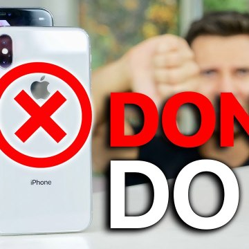 DON'T Buy The iPhone Xs.. 10 Reasons Why