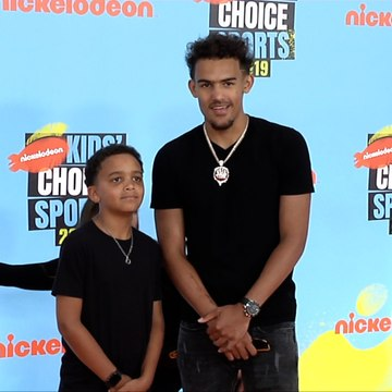 "Trae Young ""Kids' Choice Sports 2019"" Orange Carpet"