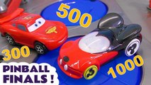 Hot Wheels Pinball Finals with Disney Pixar Cars 3 Lightning McQueen in this Learn Colors Learn English vs Transformers Bumblebee Family Friendly Toy Story Full Episode English