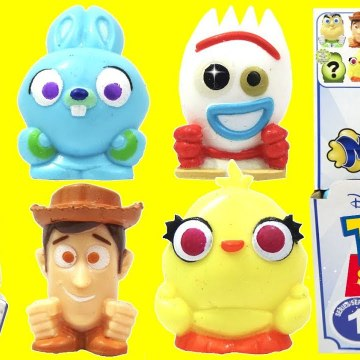 Disney Pixar's TOY STORY 4 Mashems Squishy TOY Surprise Capsules