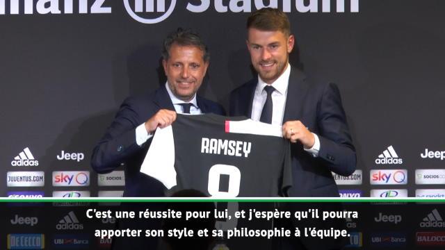 Juventus - Ramsey impatient de jouer sous les ordres de Sarri