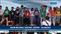 Milenial Surabaya Suarakan Dukungan untuk Jokowi-Ma'ruf