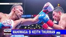 Mahiwaga si Keith Thurman