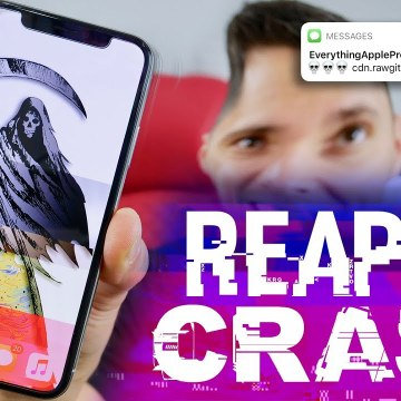 Do NOT Click This Link- Crash ANY iPhone ☠️
