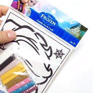 Frozen - DIY Sand Art Playsets