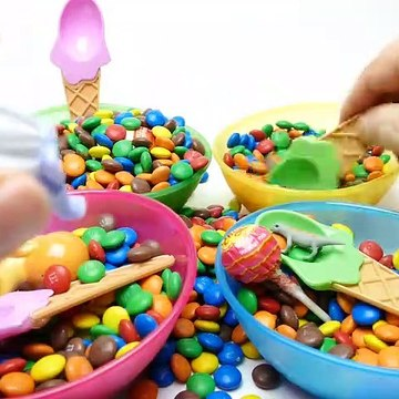 Hide & Seek Toys in M&M's Game - Teletubbies Trolls and Pets