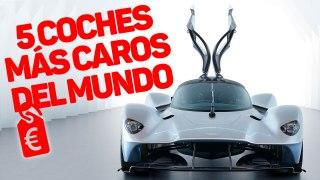 VÍDEO: Estos son los 5 coches más caros del mundo, ¿los conoces?