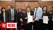 Group turns up in Parliament calling for murder charge in Beng Hock case