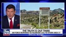 """Près d'un million de personnes veulent envahir la """"Zone 51"""" base secrète américaine soupçonnée d'abriter des extra-terrestres"""