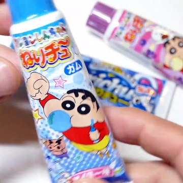 Shin Chan - Ramune Tube Bubble Gum