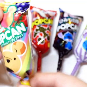 Popcan Disney Lollipops - Lilo and Stitch Minnie and Mickey Mouse