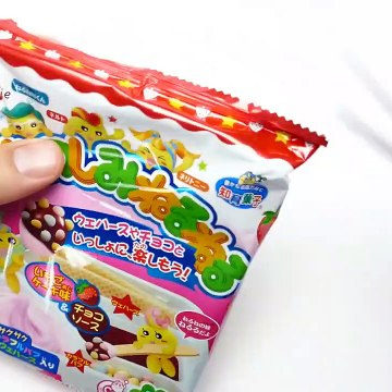 Kracie Neruneru Candy - Strawberry Cake Flavor