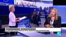 Commission européenne : von der Leyen va-t-elle récolter les 374 voix nécessaires ?