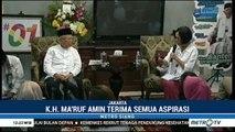 Ma'ruf Amin Serap Aspirasi Artis dan Influencer