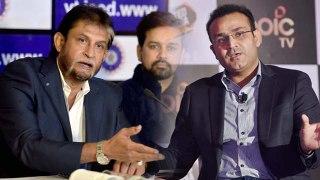 MS Dhoni retirement: Virender Sehwag gets angry on ex Chief Selector Sandeep Patil| वनइंडिया हिंदी
