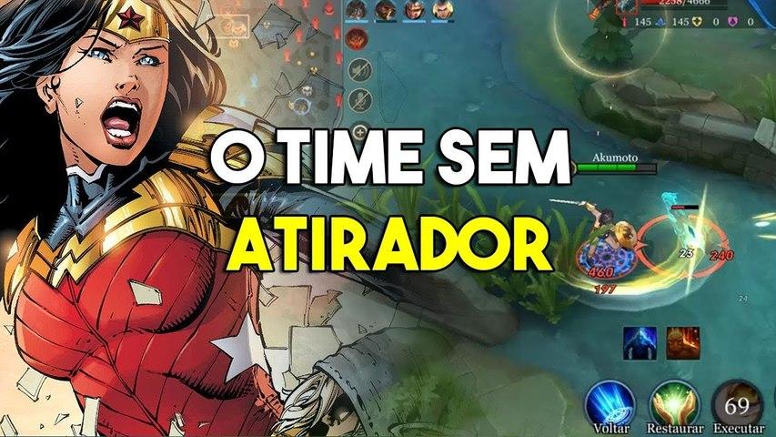 O time sem atirador - Arena of Valor