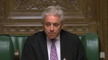 John Bercow announced he will allow contempt motion