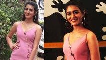 Priya Prakash Varrier stuns in neckline dress at Sridevi Bungalow event | Boldsky