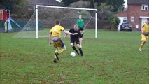 Uni of Chi football and netball action