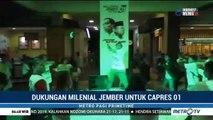 Dukungan Milenial Jember untuk Jokowi-Ma'ruf