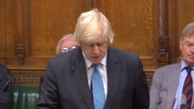Moment Boris Johnson apologises to MPs for failing to declare income after showing 'over-casual attitude' to the rules
