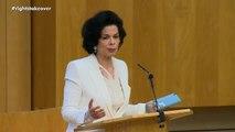 Bianca Jagger's speech at the Scottish Parliament