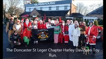 Harley Davidson Santas deliver festive joy to Doncaster children