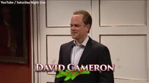 Theresa May / David Cameron sketch on Saturday Night Live