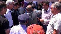 PKK'lıların tuzakladığı patlayıcının infilak etmesi sonucu ölen 2 kardeş son yolculuklarına...