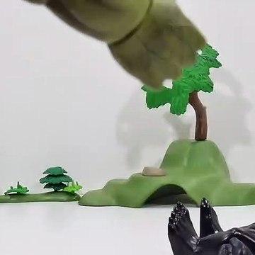 Hulk Toys Collection Go! Marvel Old Men Hulk Incredible! Power of Hulk! - BAAM BAAM Toys