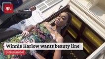 Winnie Harlow Wants To Be A Beauty Mogul