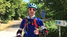Steven Feigenbaum traverse l'Europe en roller pour une bonne cause