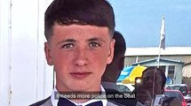 Robert Brown pays tribute to his murdered teenage son Jamie