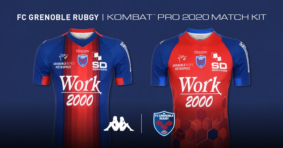 Rugby : Video - Maillots FCG saison 2019-2020